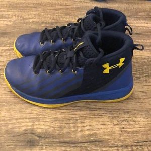 Big boys under armour sneakers